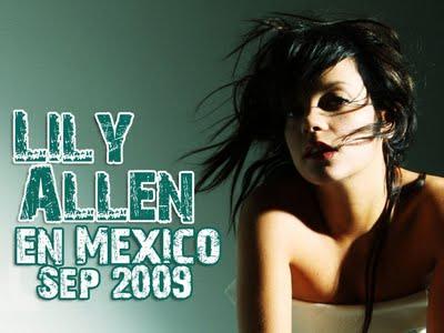 Lily Allen en México