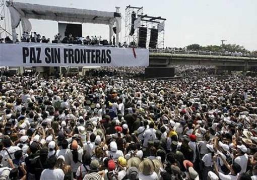 Escena de Paz sin Fronteras