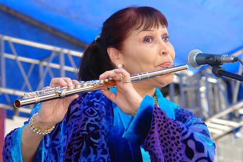 Elena Durán en escena
