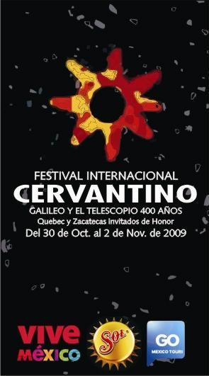 Cartel del Festival Internacional Cervantino