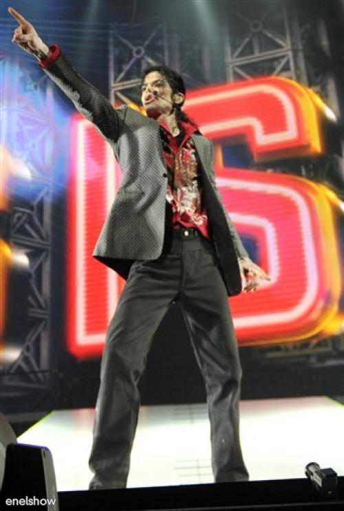 Michael Jackson en el ensayo final
